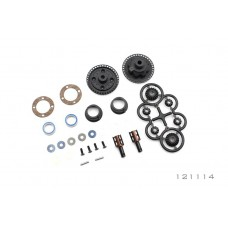 M-121114 - OPTIONAL GEAR DIFFERENTIAL - PLASTIC SET  S2 CUP 3.6