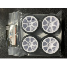 34SU Touring Car Tyres - Spoked Wheels