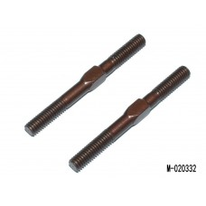 M-020332 ADJ. TURNBUCKLE L/R 32 MM  - SPRING STEEL (2)
